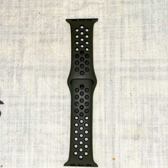 Apple Nike band 38/40 mm olive black color